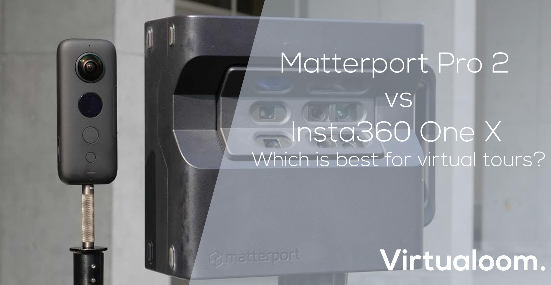 matterport pro 2 vs insta360 blog header